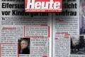 skandalöser Artikel in HEUTE | Graphik: DerGloeckel.eu