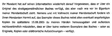 Zeugen Jehovas - Armin Pikl | Faksimile: DerGloeckel.eu