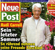 Neue Post - Titelstory Rudi Carrell