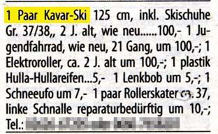 Skiangebot