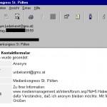 e-Mail zur FH St. Pölten