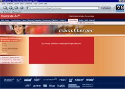 ARD Forum Maischberger geschlossen