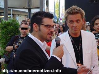 Rick Kavanian & Moderator Steiner