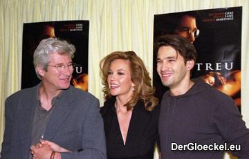 Richard Gere, Diane Lane und Oliver Martinez bei der Deutschland-Premiere von UNFAITHFUL
