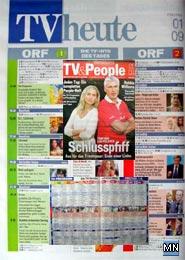 TV-Programm in Tageszeitung ÖSTERREICH